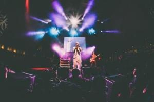 Bild von Konzert eines Rappers