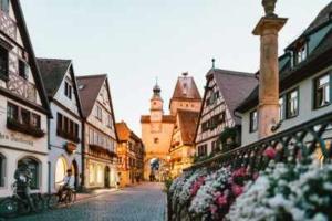 Bild von einem Dorf in Deutschland