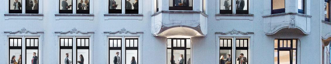 Fassade des Bürogebäudes der Kraus Ghendler Anwaltskanzlei