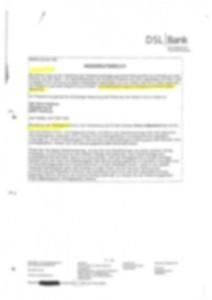 Fehlerhafte Wiederrufsbelehrung der DSL Bank November 2006