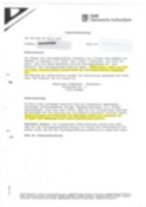 Fehlerhafte Wiederrufsbelehrung der SAB Dezember 2008
