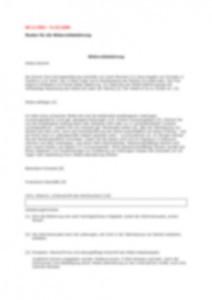 musterwiderrufsbelehrung - Widerrufserklrung Muster