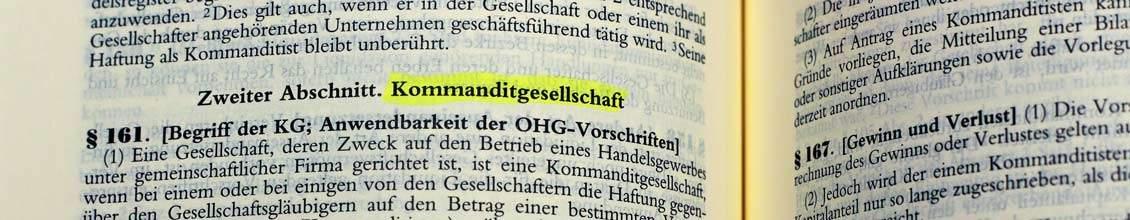 GmbH & Co KG Gründung - Vor und Nachteile - Anleitung Schritt für Schritt