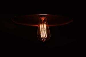 Bild von einer Lampe