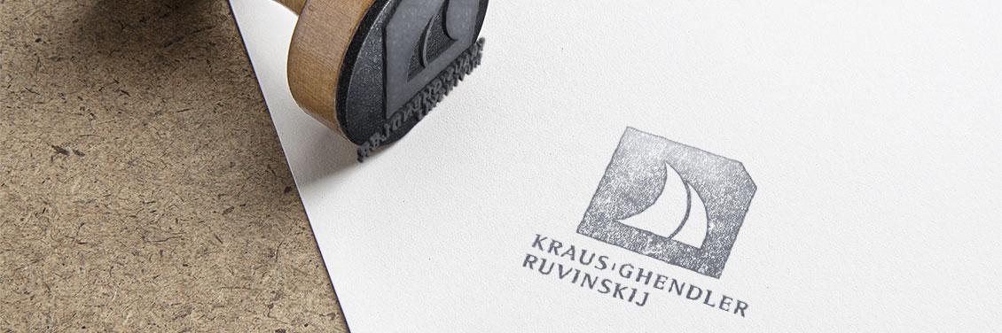 Bild von einem Stempel der Kraus Ghendler Ruvinskij Anwaltskanzlei