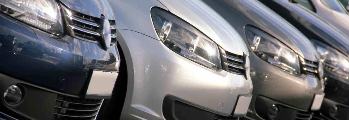 Bild von VW-Autos in einer Reihe