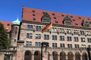 Bild vom Landgericht in Nürnberg