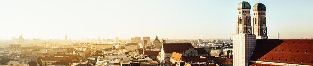 Skyline der Stadt München