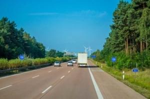Bild von Autobahn