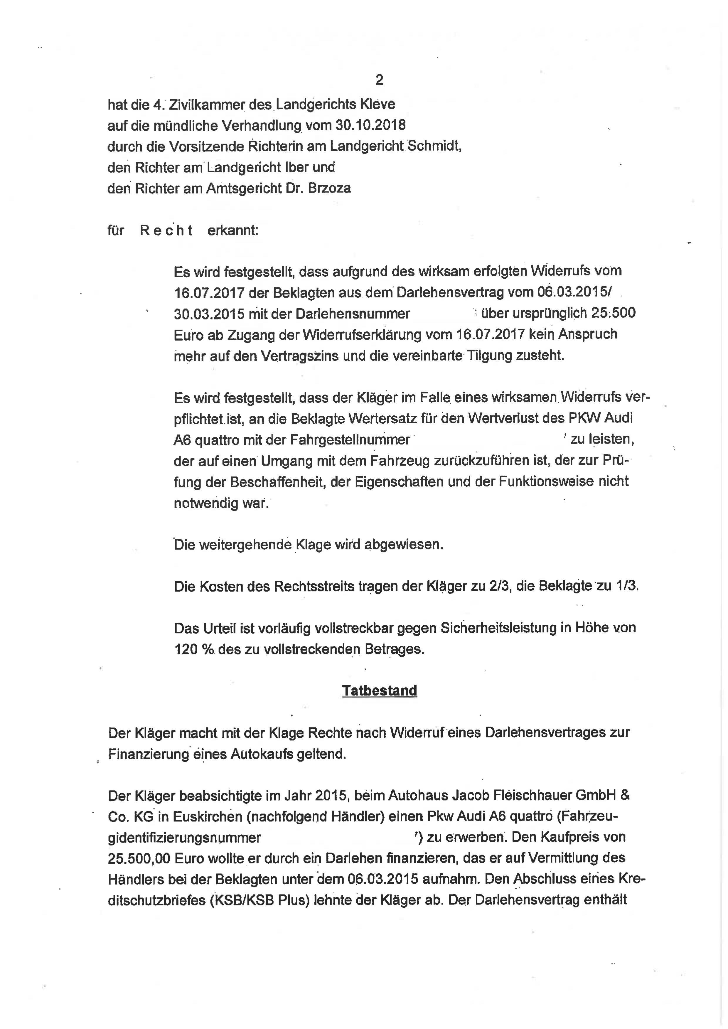 Seite 2 des Urteils 4 O 46/18