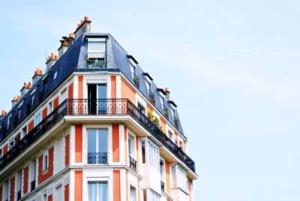 Bild von einer Häuserfassade