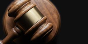 Bild von einem rechtlichen Hammer