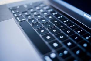 Bild von einer Tastatur