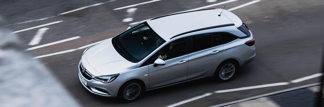 Bild von einem fahrenden Auto