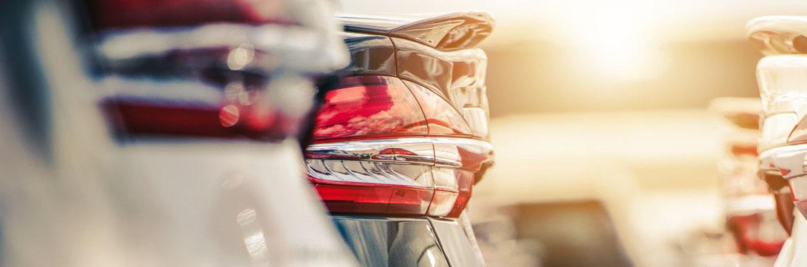 Bild von den Lichtern eines Autos