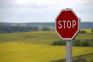 Bild von einem Stoppschild