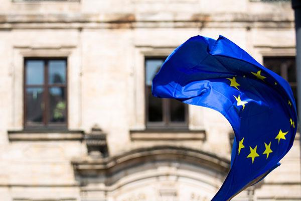 Bild von Europäischer Flagge