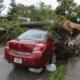 Bild von einem beschädigten Auto