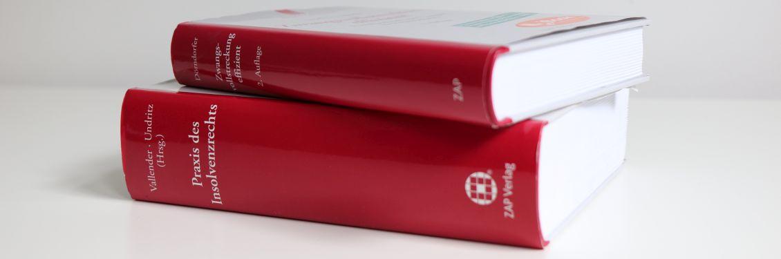 Zwei Bücher des Insolvenzrechts