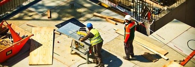 Bild von einer Baustelle