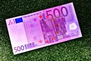 Bild von einem 500€ Schein