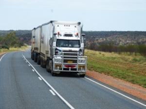 Bild von einem Lkw