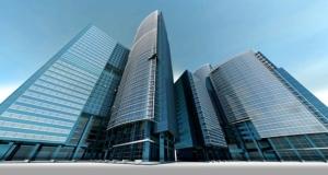 Bild von einem Bankgebäude