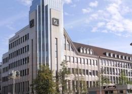 Bild von einer Deutschen Bank Filiale
