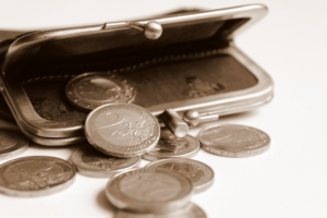 Bild von einem Portemonnaie