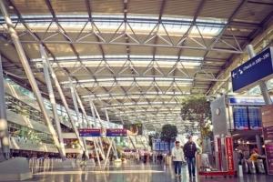 Bild von einem Flughafen