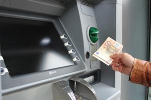Bild von einem Bankautomat