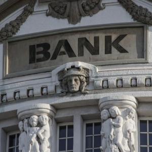 Bild von einer Bank