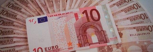 Bild von 10-Euro-Scheinen