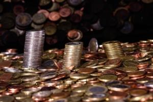 Bild von Münzen
