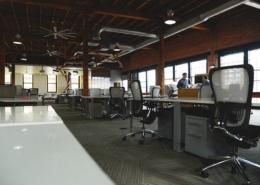 Bild von einem Großraumbüro