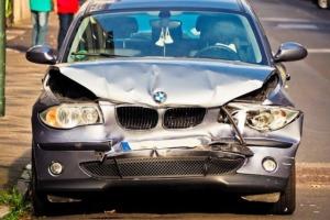 Bild von einem beschädigtem Auto